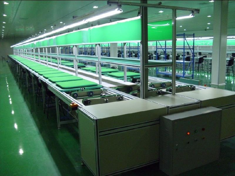 组装流水线作业的操作规范可以提高产能